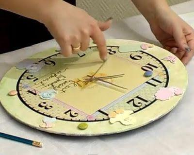 Cinco relojes que marcan el tiempo a tu medida | Aprender manualidades es facilisimo.com