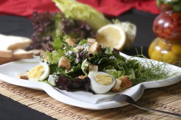 سلطة الخس بالريكفورد Lettuce And Rochefort Salad Lettuce Salad Rochefort