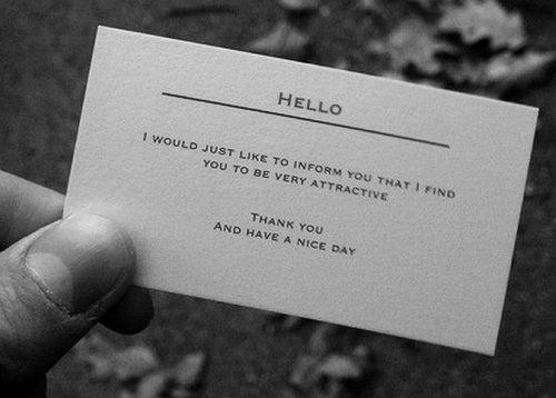 La Carte De Visite Speciale Drague