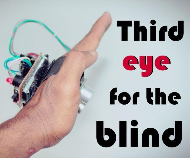Third Eye For The Blind An Innovative Wearable Technology For Blinds Wearable Technology Arduino Third Eye