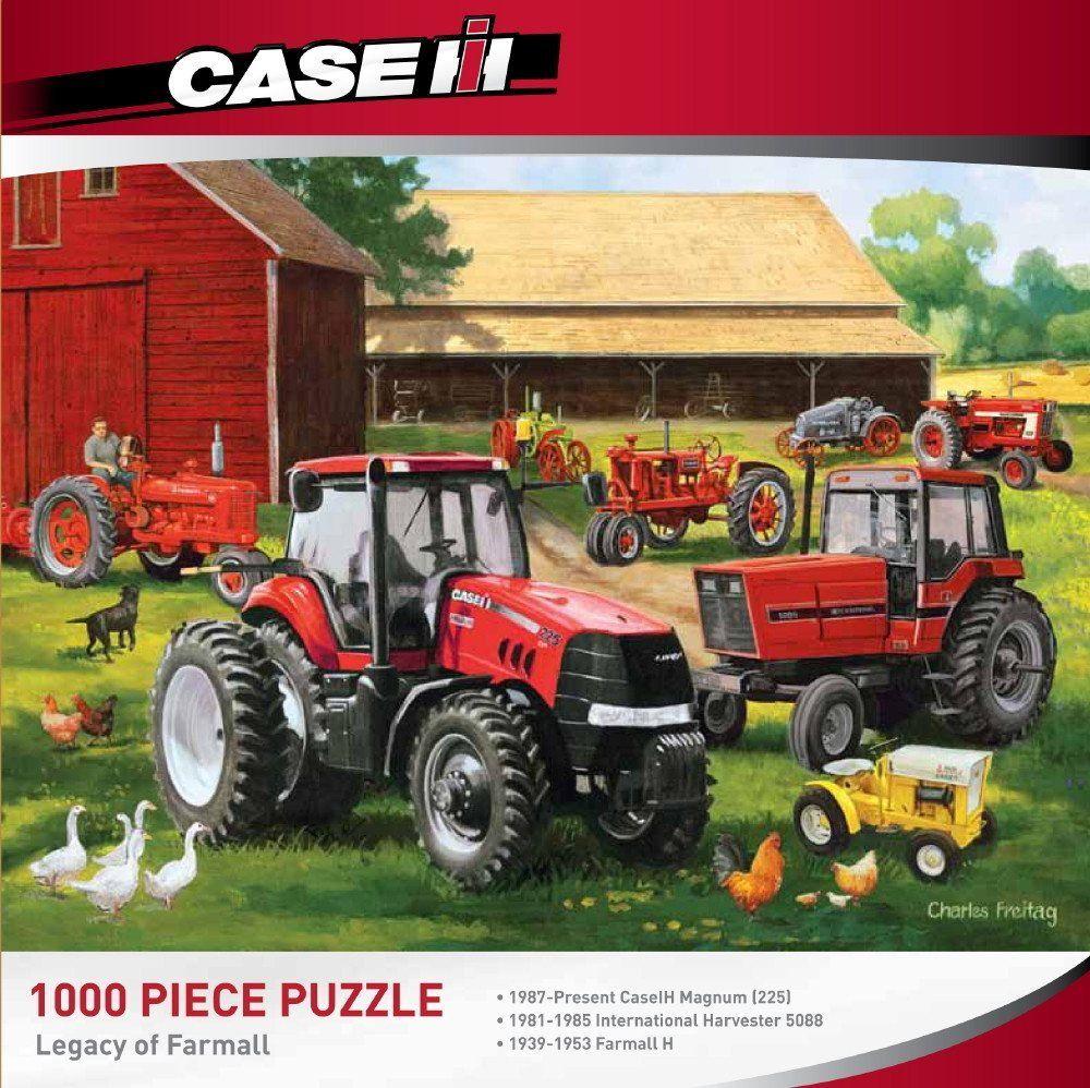 Legacy Of Farmall 1000 Piece Jigsaw Puzzle 1000 Piece Jigsaw