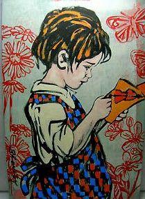 David Bromley, Reading girl