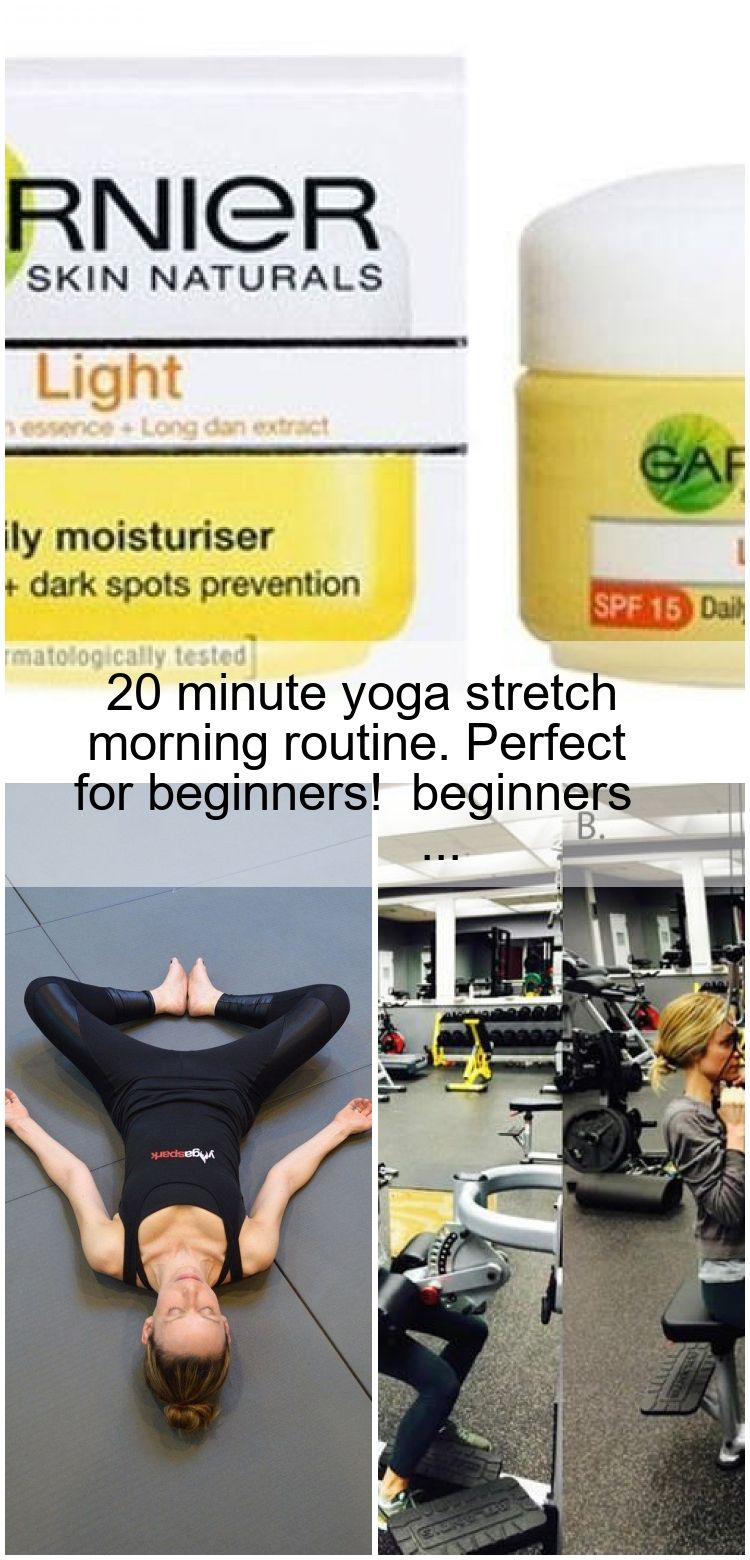 20 minute yoga stretch morning routine. Perfect for beginners! #for beginners #f... #morningroutine