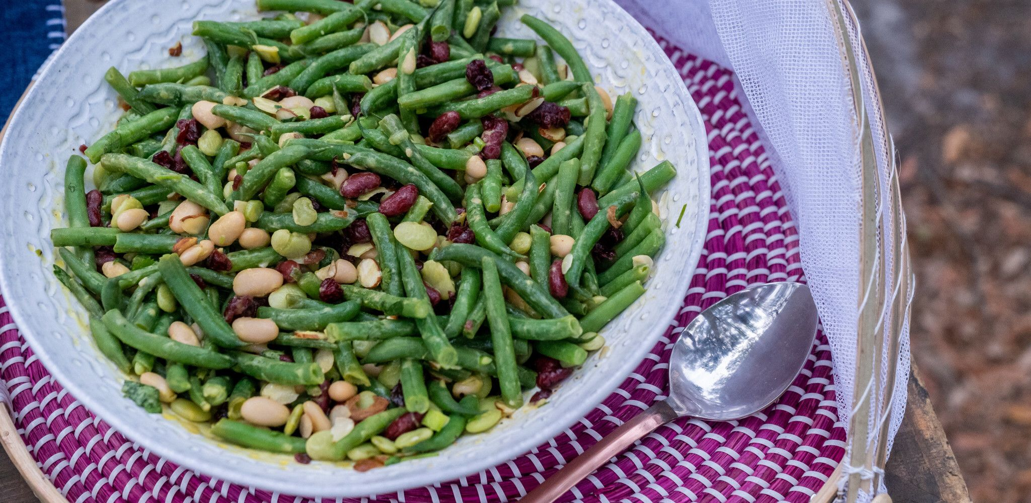 Four Bean Salad Recipe In 2020 Four Bean Salad Bean Salad Food Network Recipes