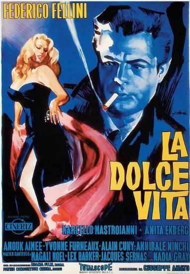 'La Dolce Vita - Vintage Style Italian Poster' Poster - | AllPosters.com