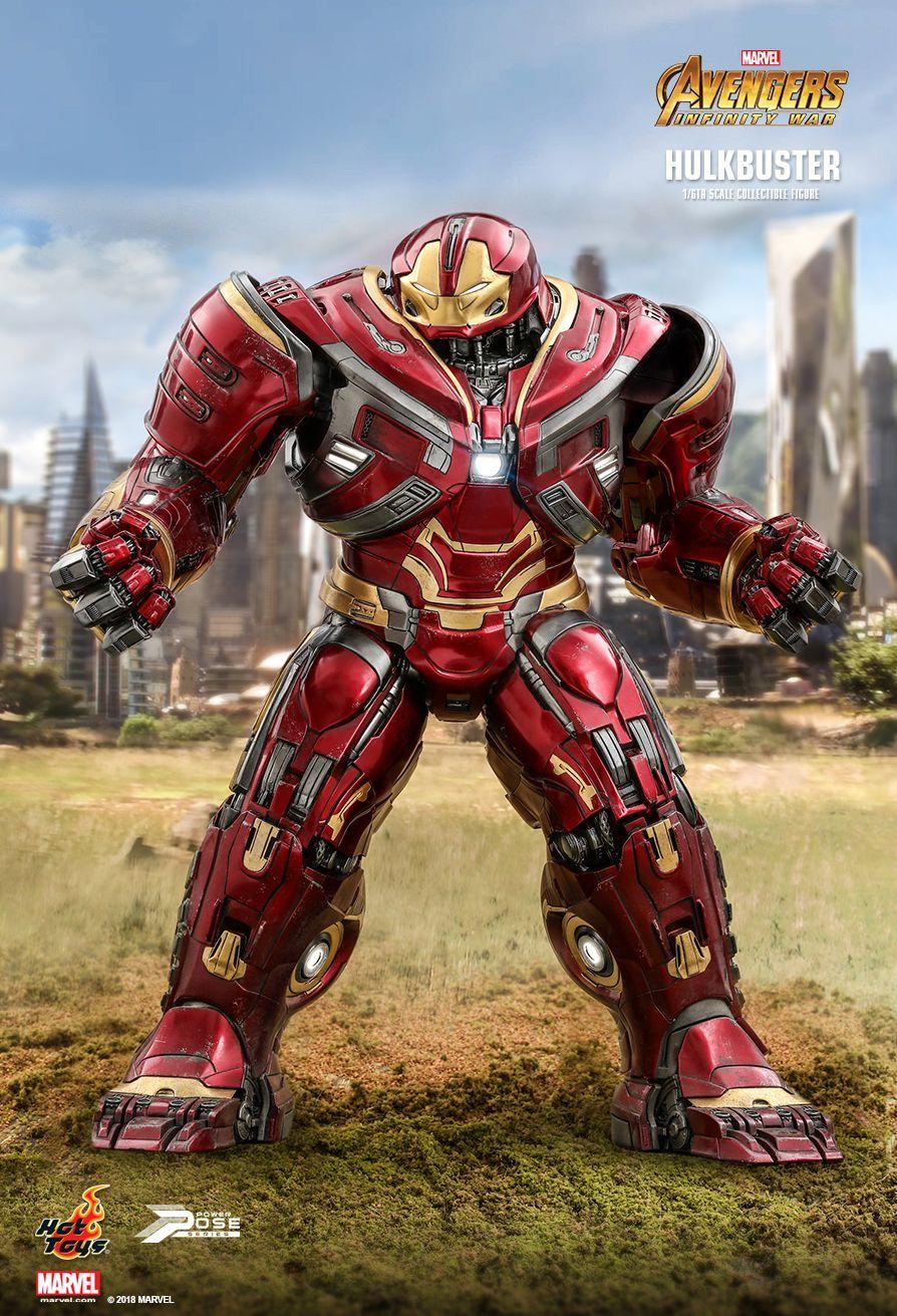 16th Hot Hulkbuster Power War ToysAvengersInfinity Scale erCBoWdx