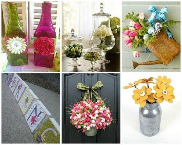 Decorazioni primaverili fai da te idee per la casa foto oggetti originali pinterest - Idee per la casa fai da te ...