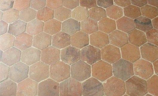 Pavimento cotto esagonale arredamento terracotta floor flooring