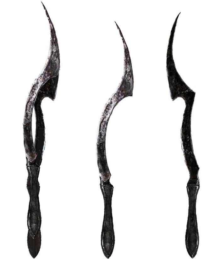 blade of mercy from bloodborne armas pinterest bloodborne