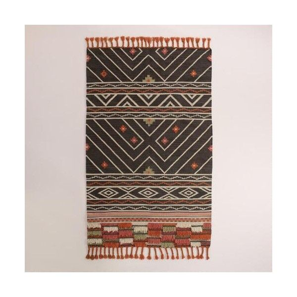 Cost Plus World Market Woven Kilim Anatolia Area Rug 200 Liked On Polyvore
