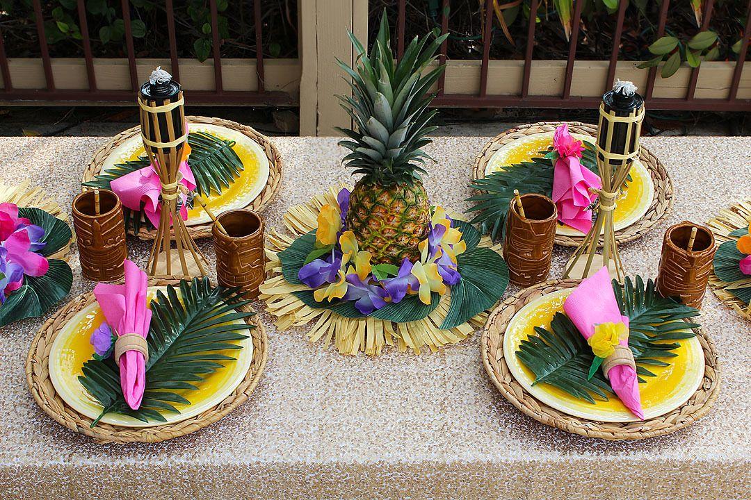 В гавайском стиле сценарий и поздравление