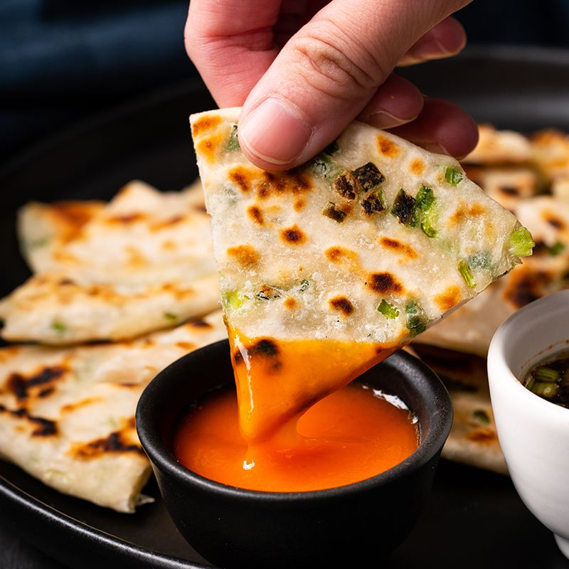 Chinese Spring Onion Pancakes - Marion's Kitchen