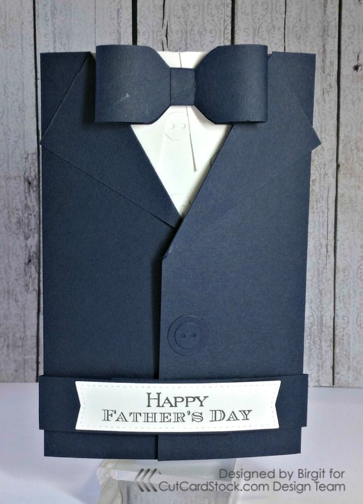 Diy Father S Day Suit Card Father S Day Diy Fathers Day Cards Suit Card
