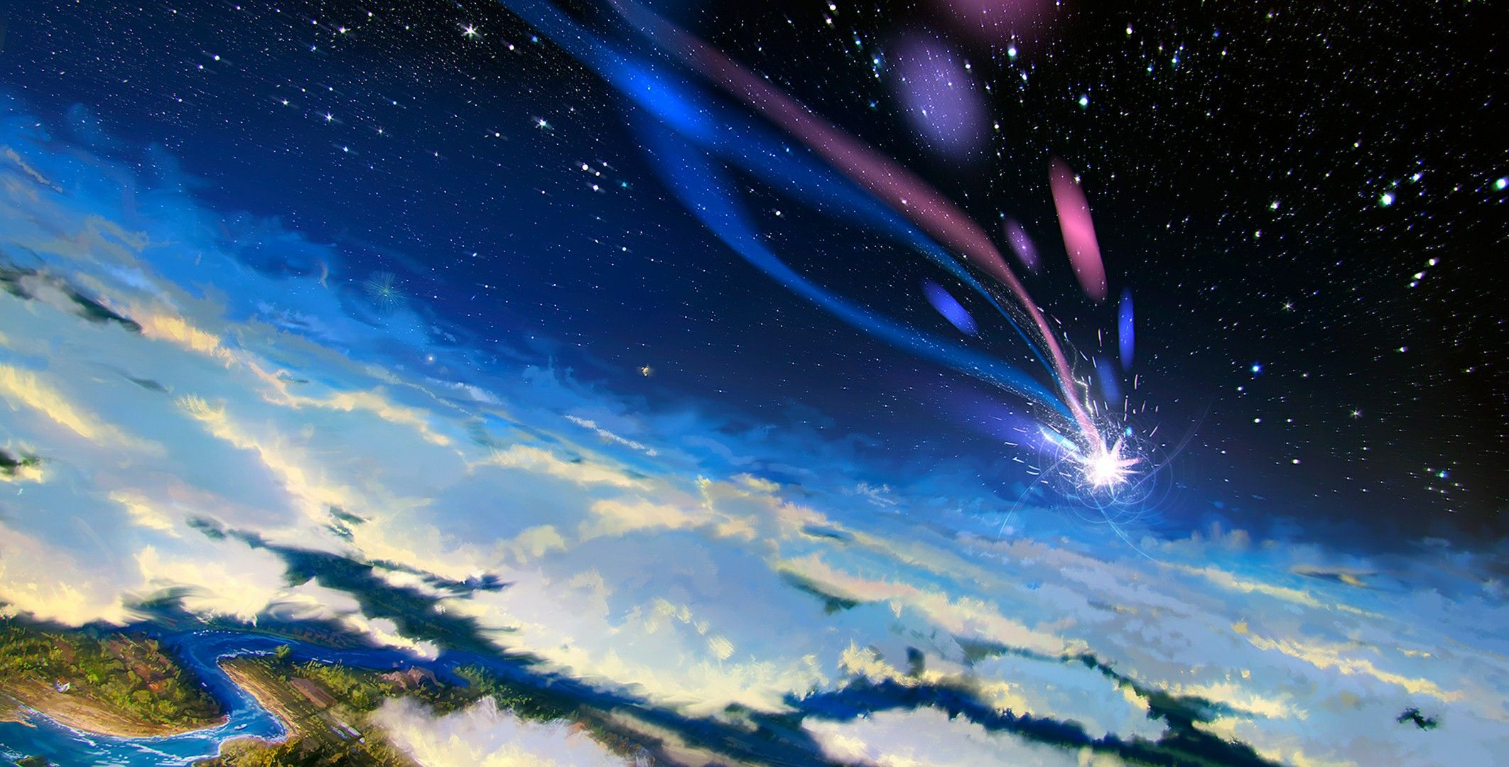 Shooting Star Howls Moving Castle Howls Moving Castle Wallpaper Howls Moving Castle Castle Pictures
