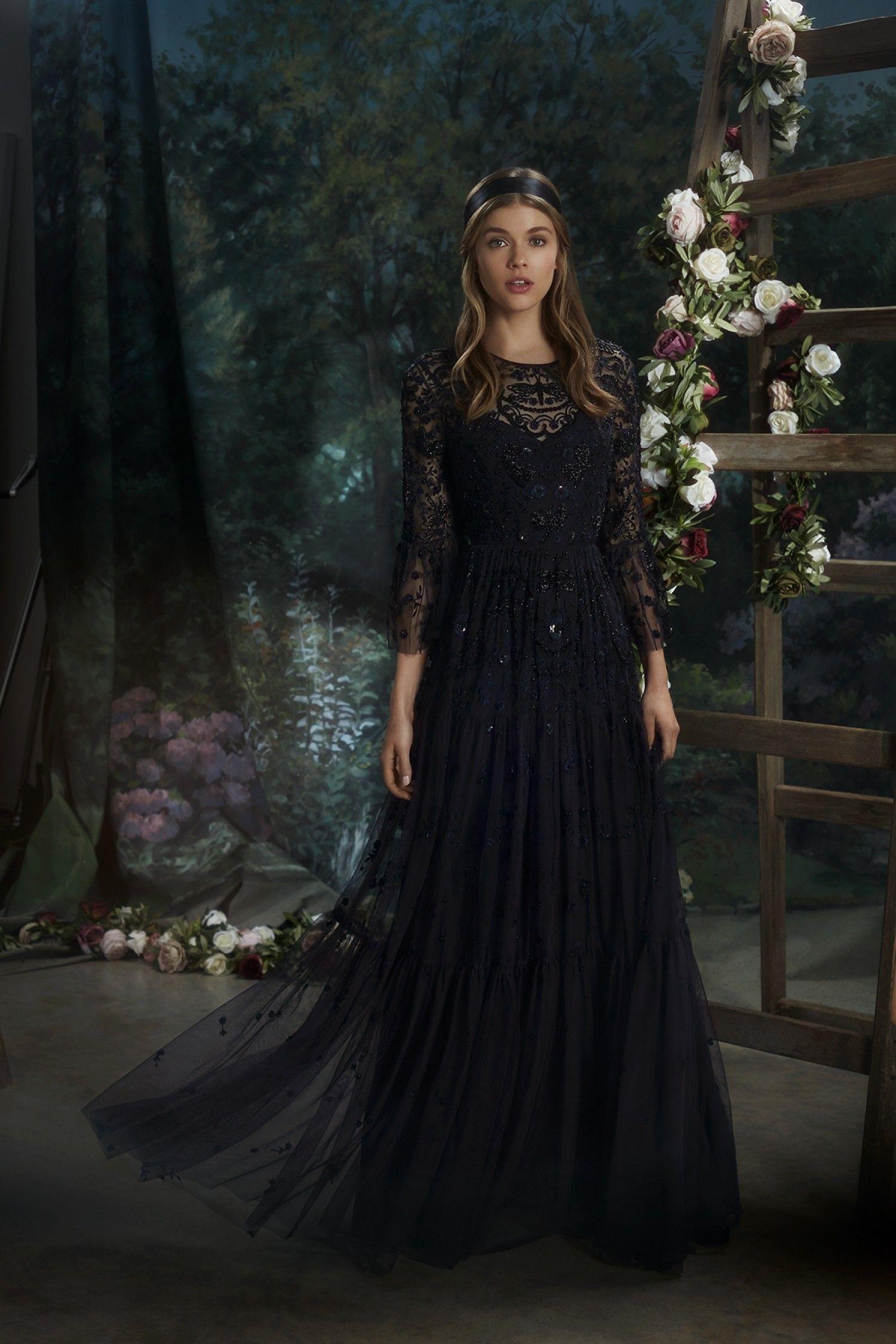 Shop The Needle Thread New Dragonfly Garden Maxi Dress Available