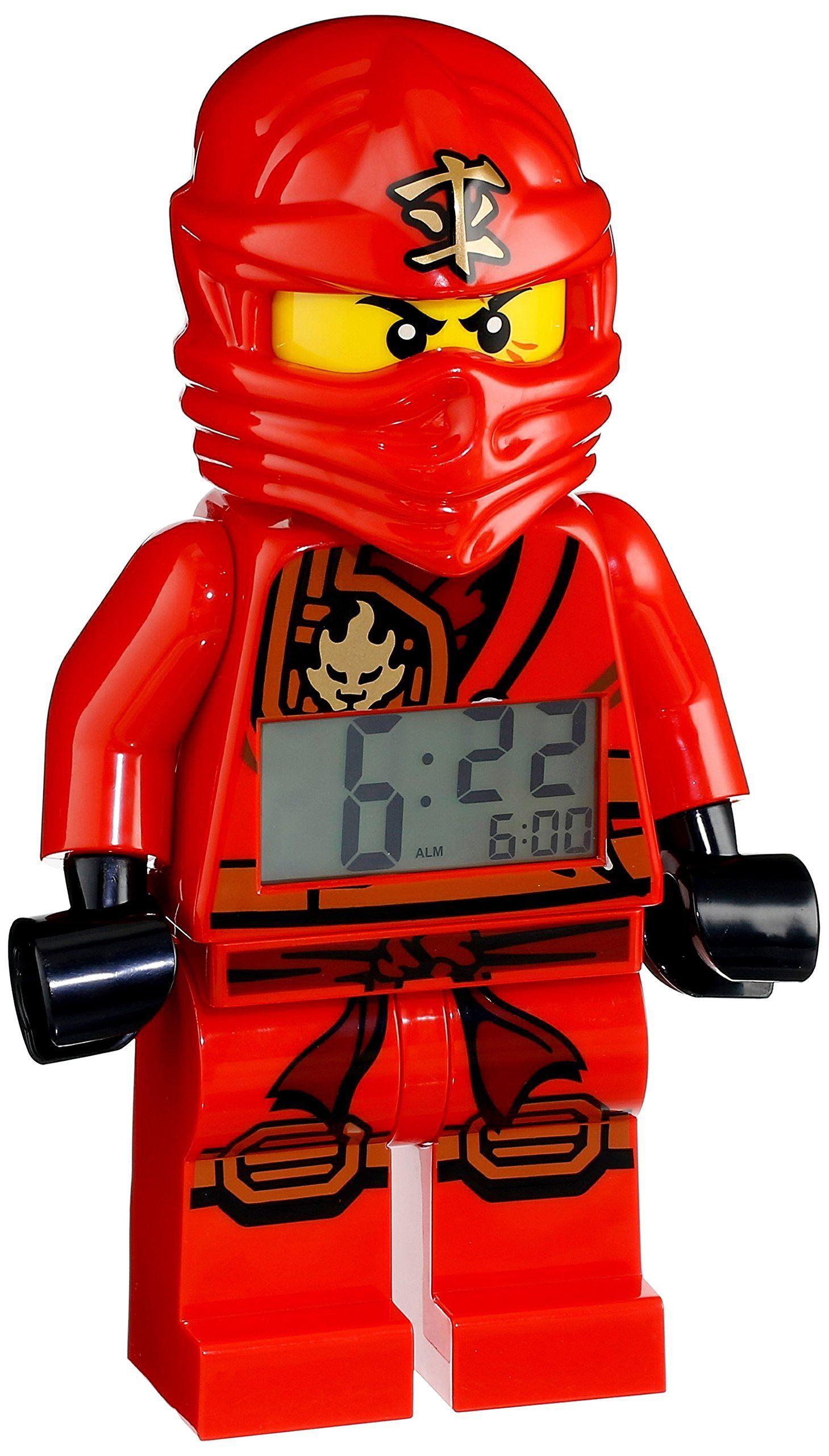 25 lego 9009600 ninjago jungle kai digital alarm clock