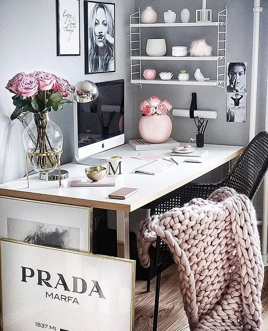 """Cecelia On Instagram: """"Home Office Goals!...Tag Your"""