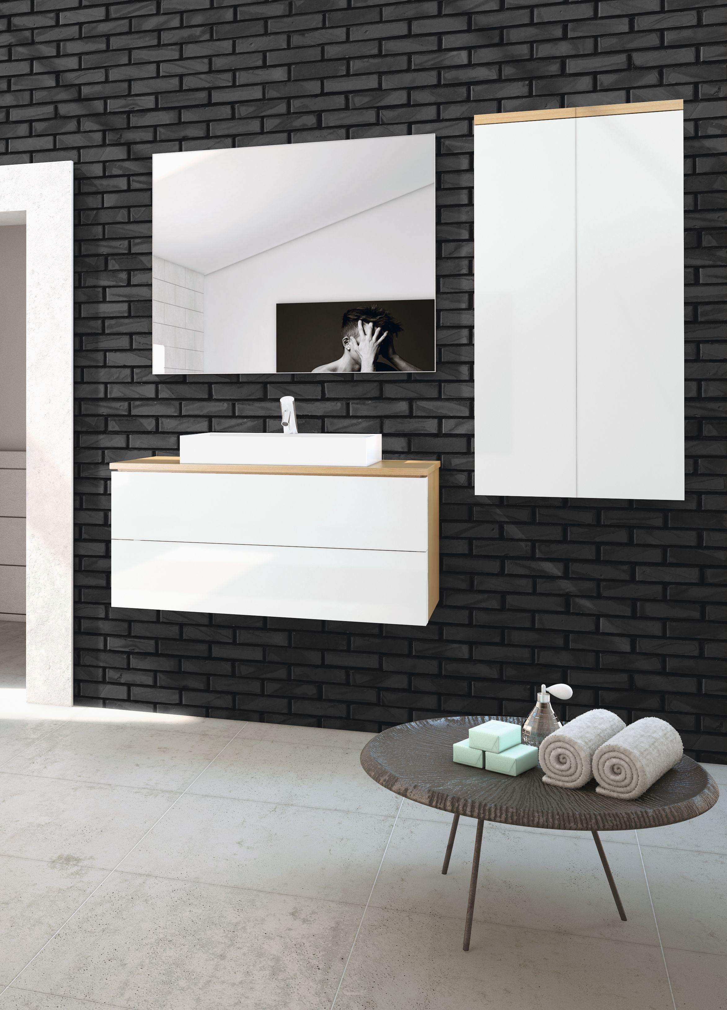 Norbanho by Italbox Bathroom furniture and storage. Mobiliário para casa de banho e arrumação. Mais aqui: www.norbanho.pt #norbanho #italbox #bathfurniture #mobiliário #casadebanho