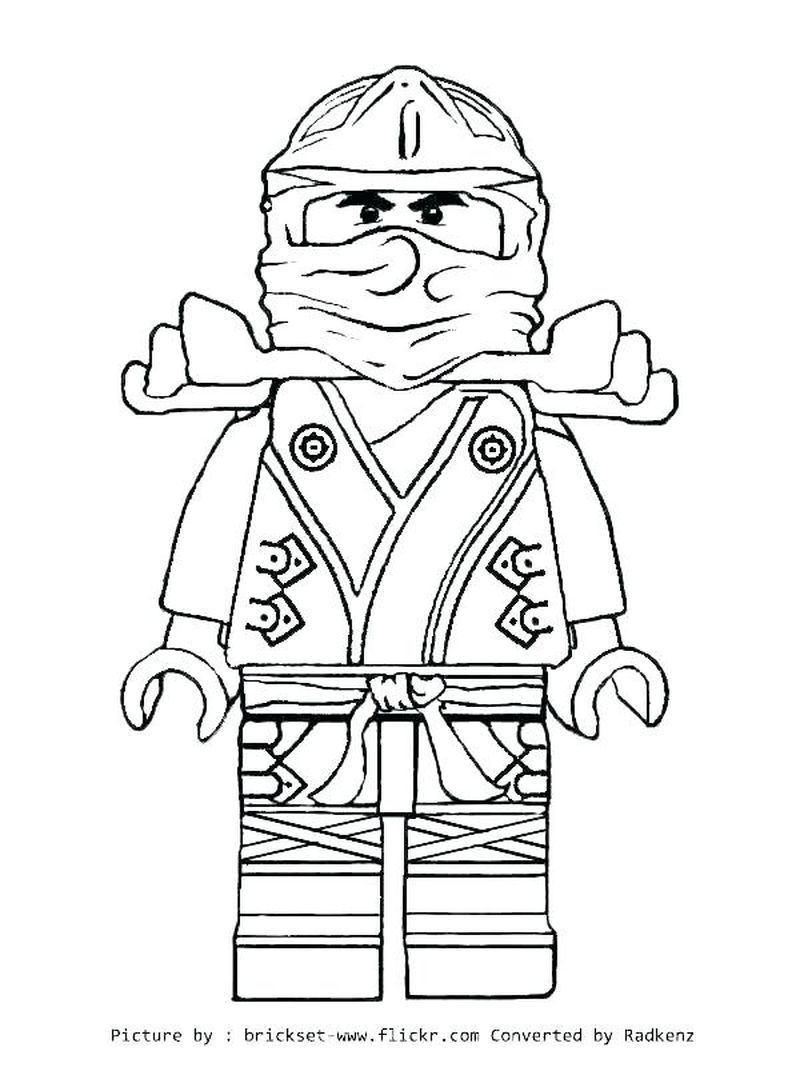 Complete Ninja Coloring Pages For Kids Ninjago Coloring Pages