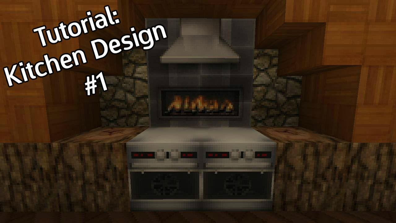 Minecraft - Kitchen Design #1 - Tutorial | Идеи