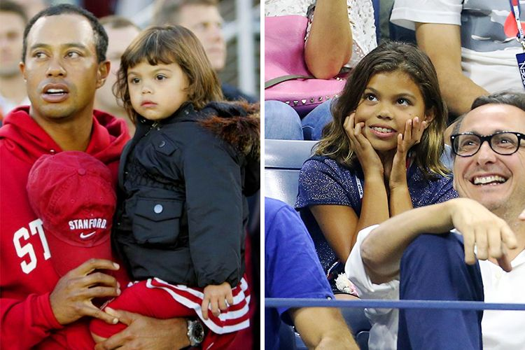 tiger woods and daughter age 10