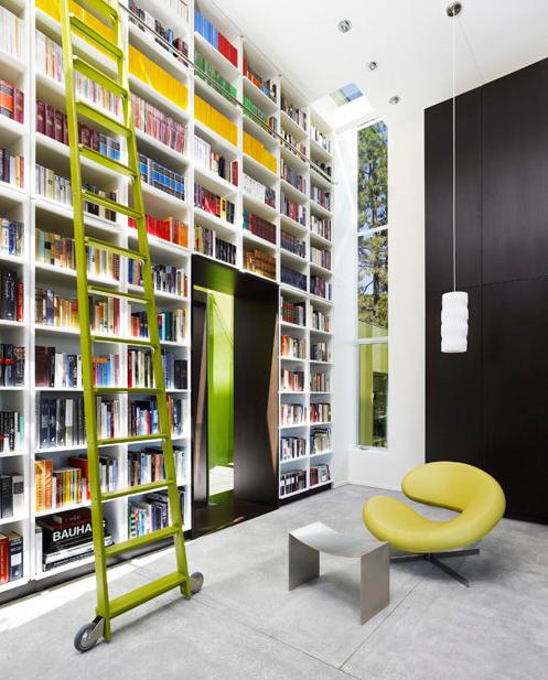 Cozyliving Room Decorating: Little Green House, Bookshelf Design, Modern