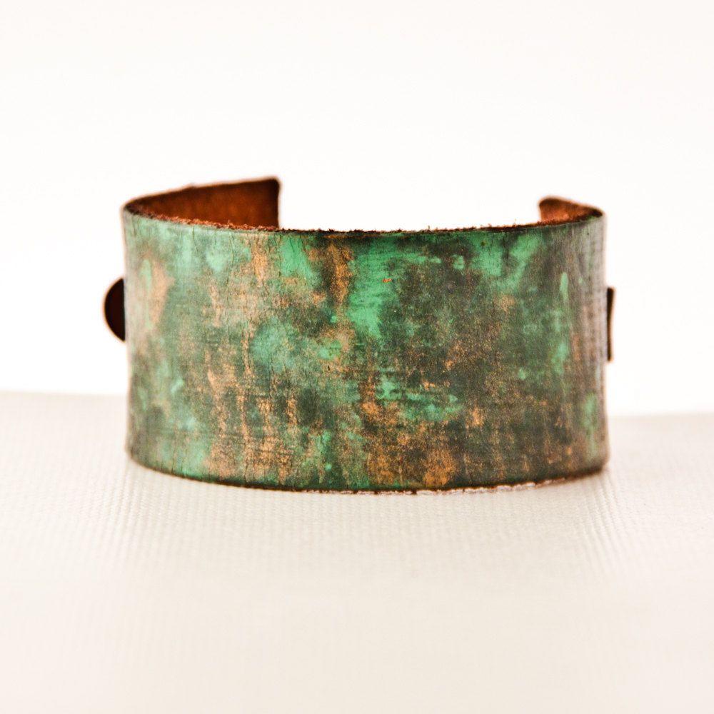 Woodland Jewelry Earthy Cuff Bracelet Eco Friendly Handmade Accessories by rainwheel on Etsy