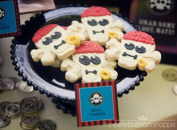 Pirate Ship And Skull Cookies Reposteria Creativa