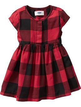 Buffalo Plaid Twill Dresses For Baby Old Navy Toddler Girl Dresses Toddler Christmas Dress Toddler Dress