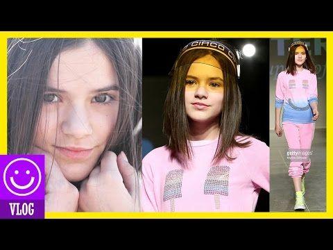 EMMA ON THE RUNWAY! NY FASHION SHOW! PETITE PARADE SPRING 2016! | KITTIESMAMA - YouTube