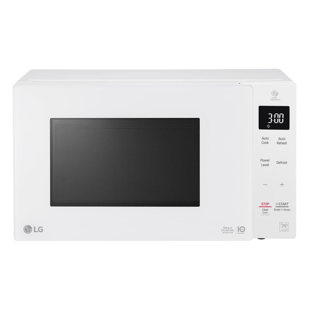 Lg Electronics Neochef 0 9 Cu Ft Countertop Microwave In White
