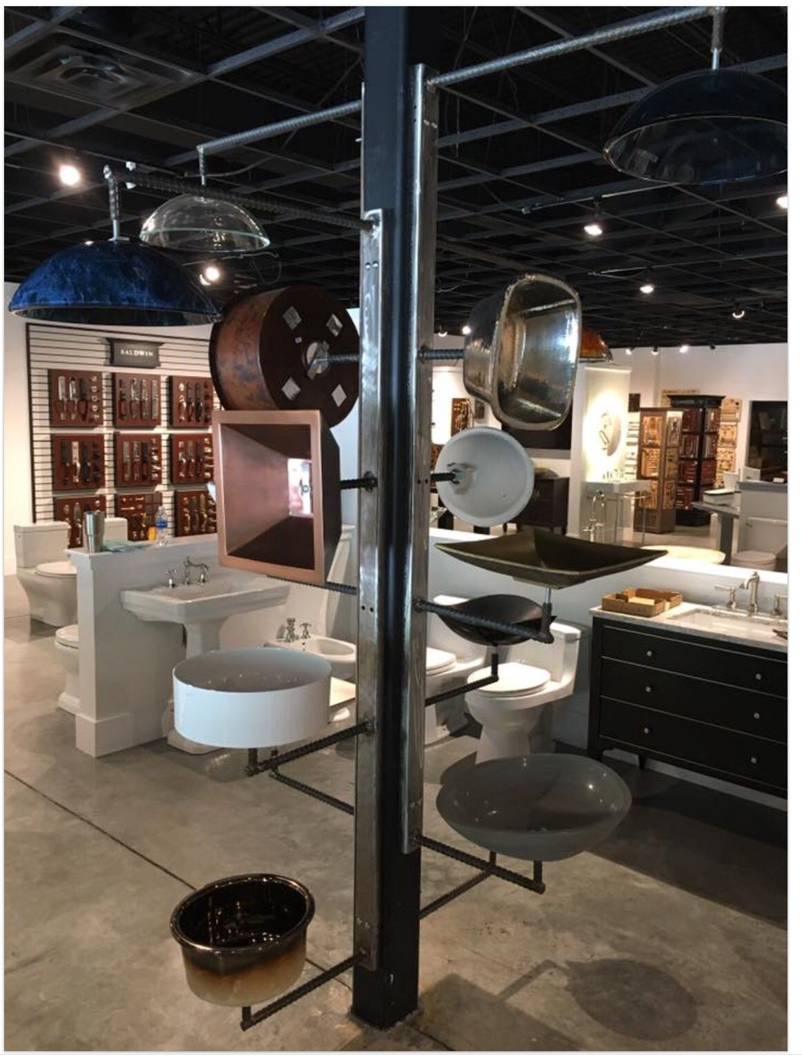 R jacobs fine hardware plumbing showroom hanging sink display r jacobs fine hardware plumbing showroom hanging sink display sisterspd
