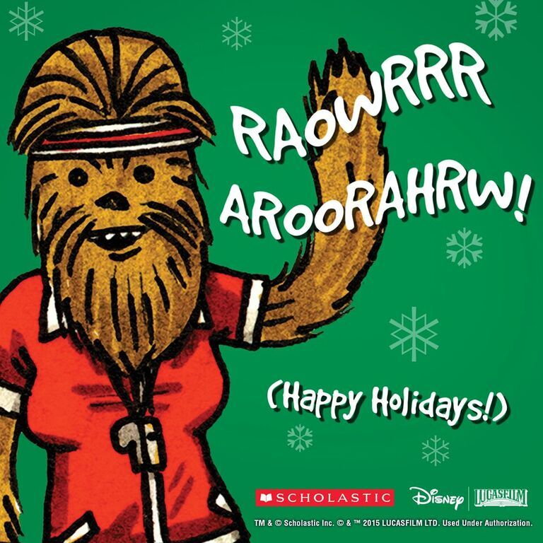 May the force be with you this holiday season! Download the image above and share on Facebook, Twitter, Tumblr, and Instagram! #JediAcademy #holiday