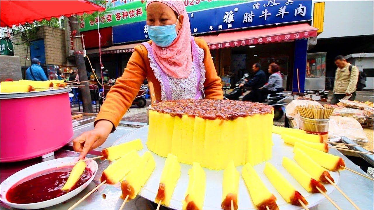 Chinese Street Food In Xi An Muslim Street Food In China Incredible Chinese Street Food Food Street Food