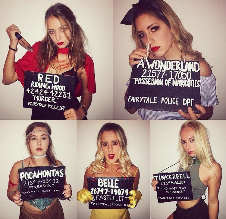 Convicted Fairytale Characters #groupcostume · Party CostumesDiy Halloween ...  sc 1 st  Pinterest & Convicted Fairytale Characters #groupcostume | Halloween Costume ...