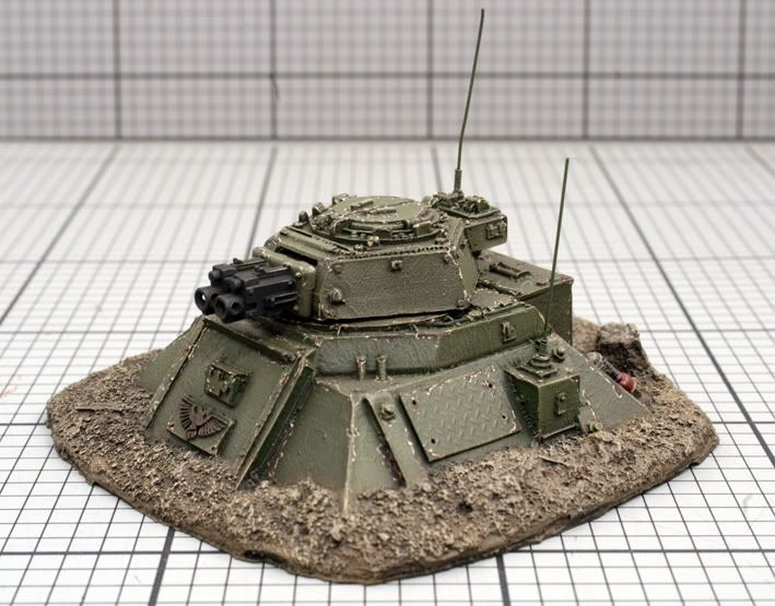 Bunkers, Barricades and battlefield bits - Warhammer 40K Fantasy