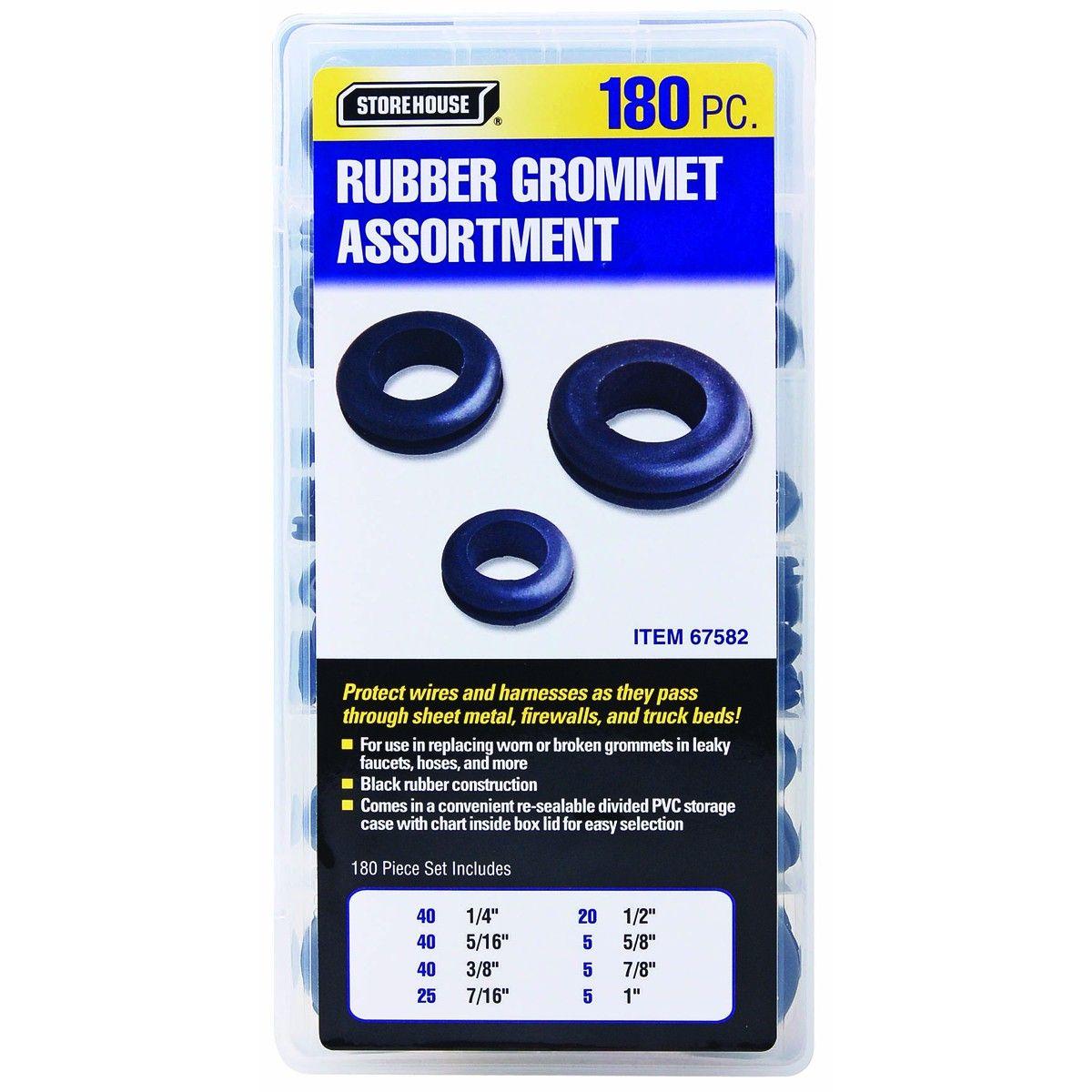 180 Piece Harness Grommet Set Mechanic Tools Wire