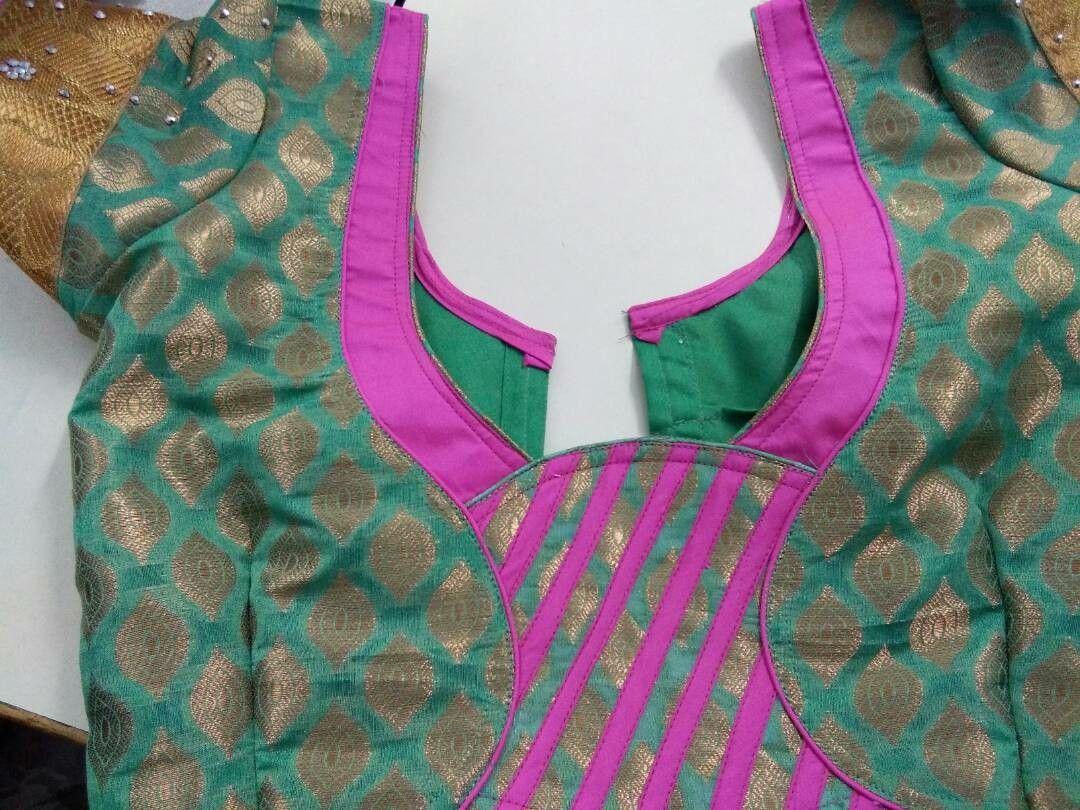 Saree blouse design patch work pin by abirami on blouse  pinterest  blouse designs yellow blouse