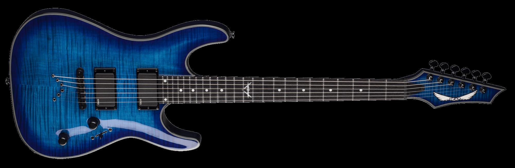 Electric Guitar Blue Png Image Blue Guitar Modern Arrangements