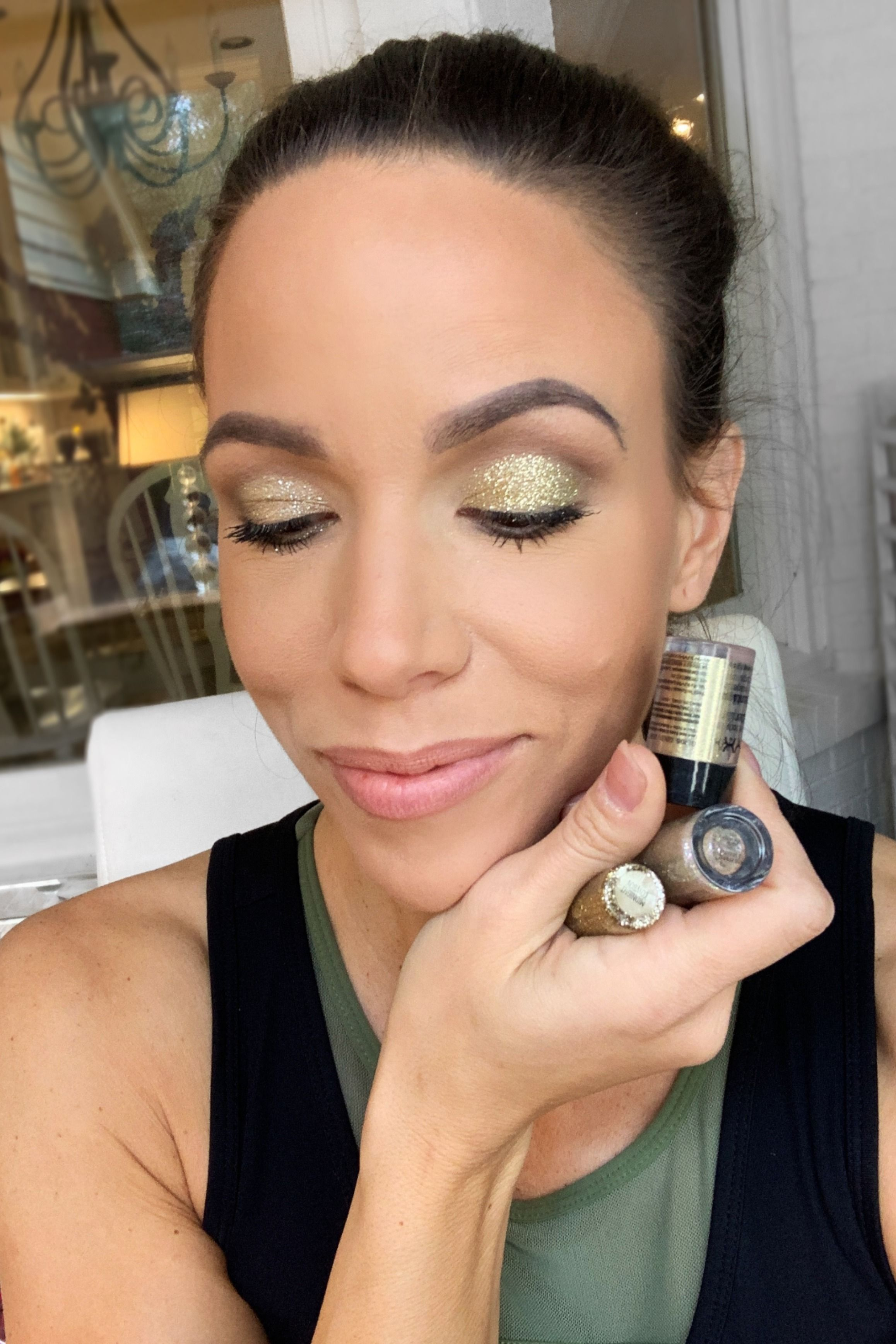 How to Use Glitter Eyeshadow Loose pigments, Eyeshadow