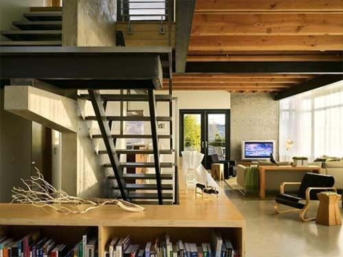 Interior-Live-Work Residence, Modern House Design by Studio Ectypos