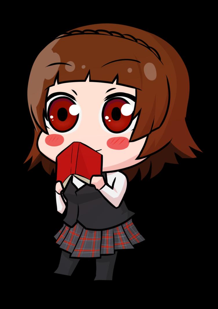Makoto Niijima Chibi Persona 5 By Mangaxai Persona 5 Anime Persona Chibi