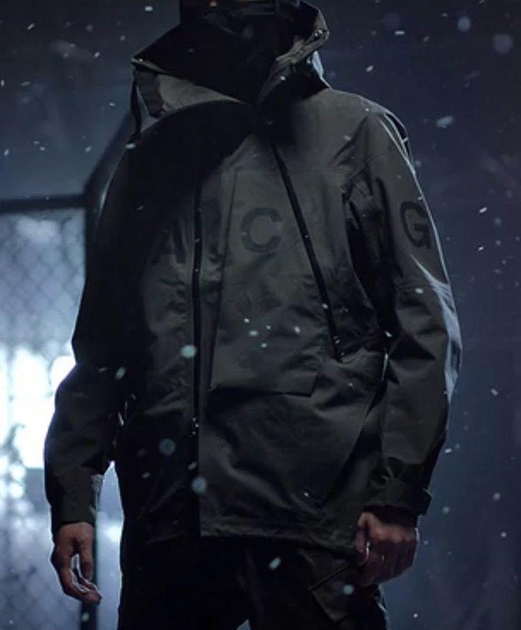 5ba15e9c5436 NIKELAB ACG ALPINE JACKET Black   street wear   Nike acg, Nike и Jackets