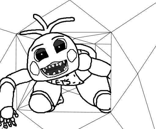 Five Nights Freddy Coloring Pages Of Toy Chica Things To