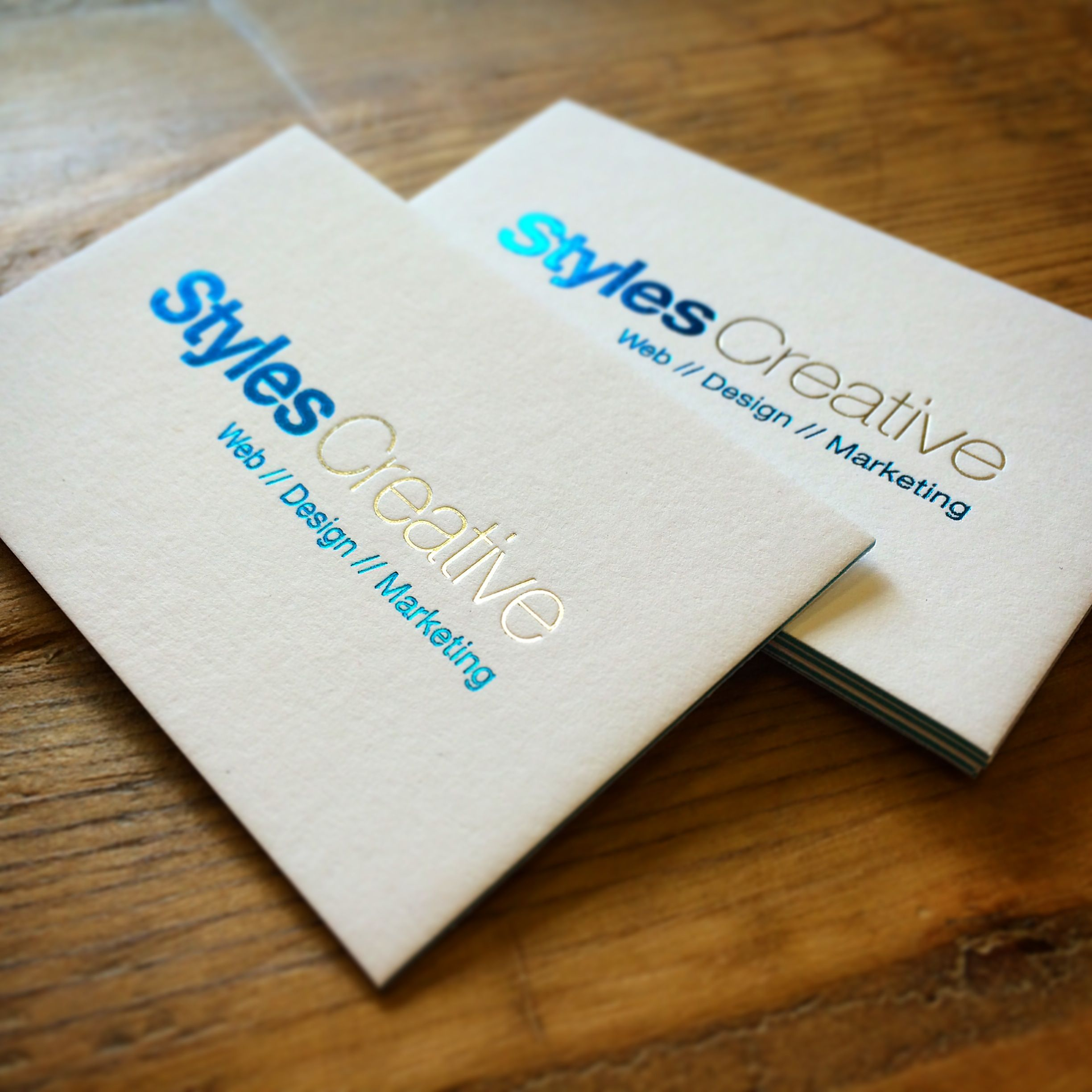 our letterpress cards are now available with beautiful vibrant