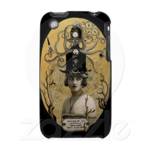 Steampunk Octopus iPhone 3 Case (currently out of stock :( )