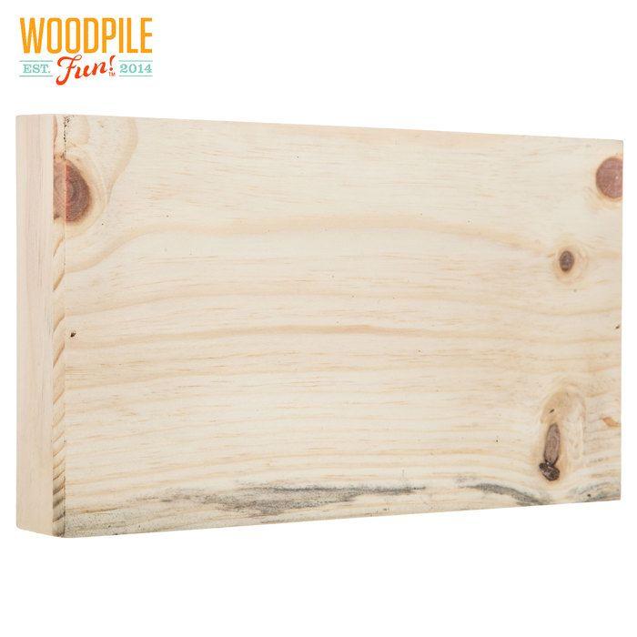 Rectangle Wood Block Wall Decor Craft Supplies Wood Blocks