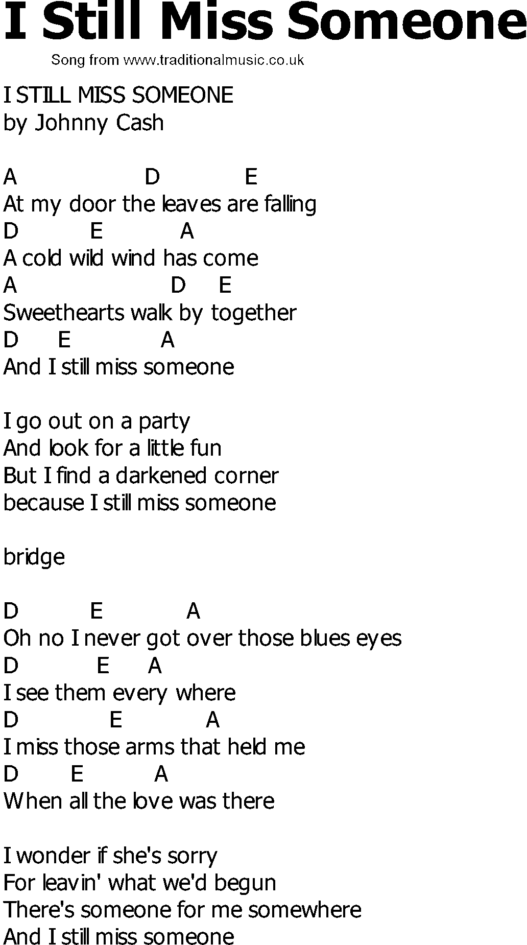 Country lyrics with chords old country song lyrics with chords country lyrics with chords old country song lyrics with chords i still miss someone hexwebz Image collections