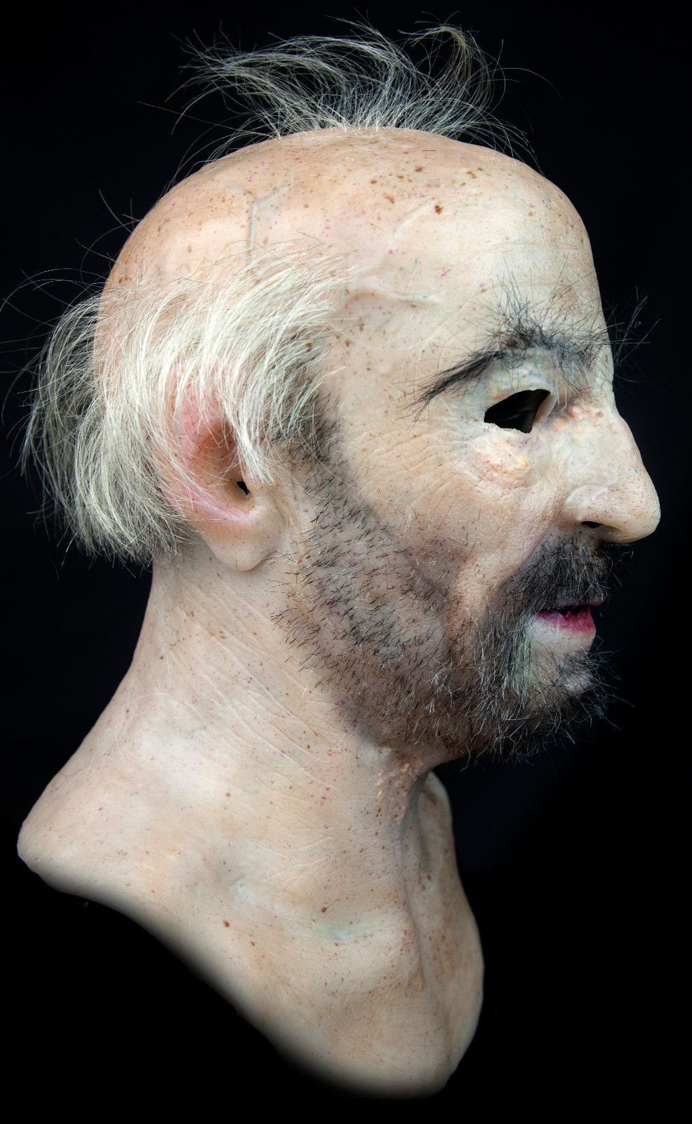 Details about Silicone Mask Old Man