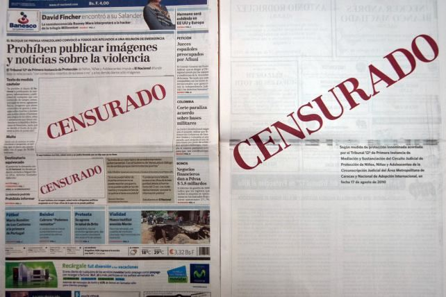 No a la censura. #PrayForVenezuela  #SOSVenezuela